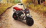 Monster Moto MM-B80-AF Mini Bike - American Flag