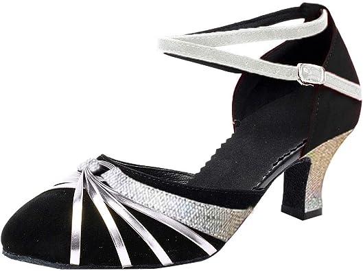 OSYARD Escarpin Danse Latine Femme Chaussure à Talon