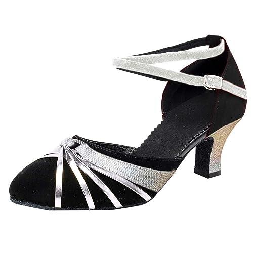 large choix de designs tout à fait stylé style top OSYARD Escarpin Danse Latine Femme Chaussure à Talon ...