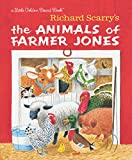 Richard Scarry's The Animals of Farmer Jones (Little Golden Board Book)