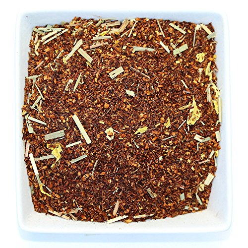 Tealyra - Red Sweet Cherry Rooibos - Red Bush and Lemongrass Loose Leaf Herbal Tea - Caffeine-Free - Antioxidants Rich - Relaxing Tea