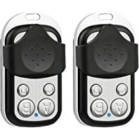 2 Pack Universal Gate Garage Door Opener Remote Control with Key Fob Replacement 433 Mhz for LiftMaster Chamberlain