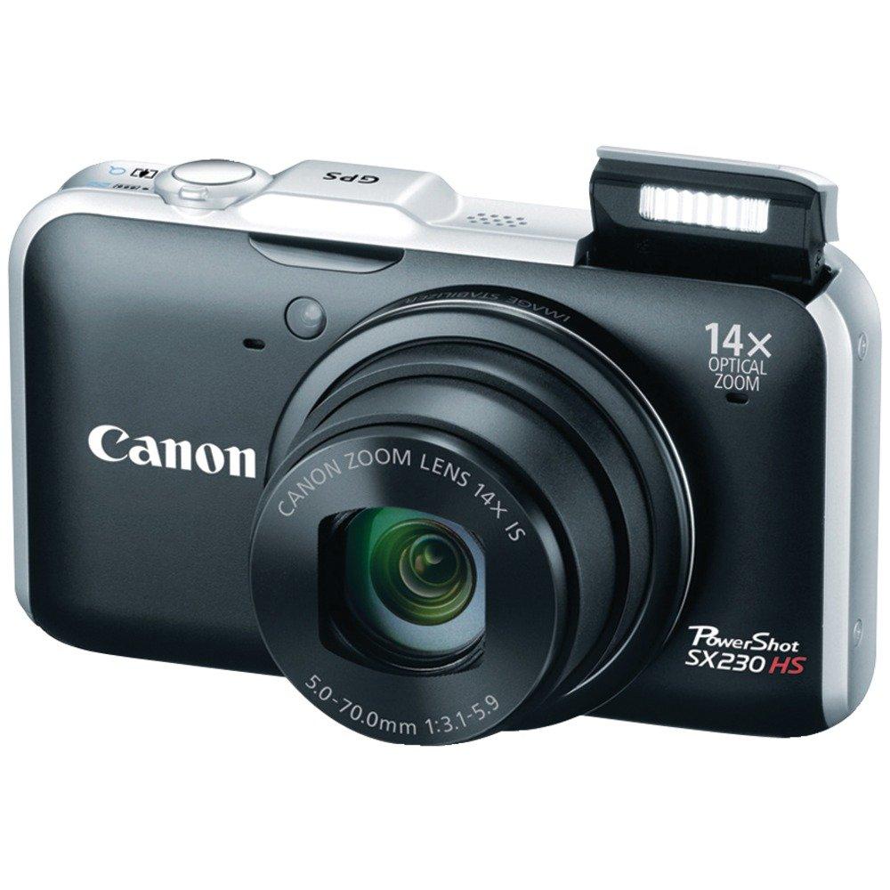 Amazon.com : Canon PowerShot SX230 HS 12.1 MP CMOS Digital Camera ...