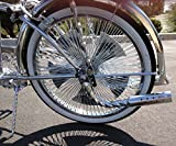 Lowrider Bike Big Twisted Muffler Chrome