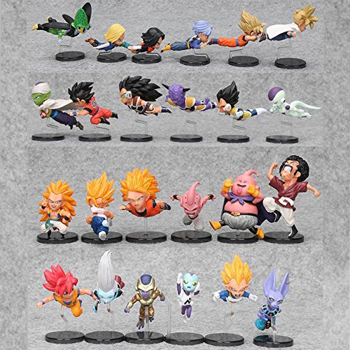 Game, Fun, 6pcs/set 5-9cm Dragon Ball Z Action Figure WCF The Historical Characters Vol.1 Vol.3 Dragon Ball Toy Figure Toys, Toy, Play