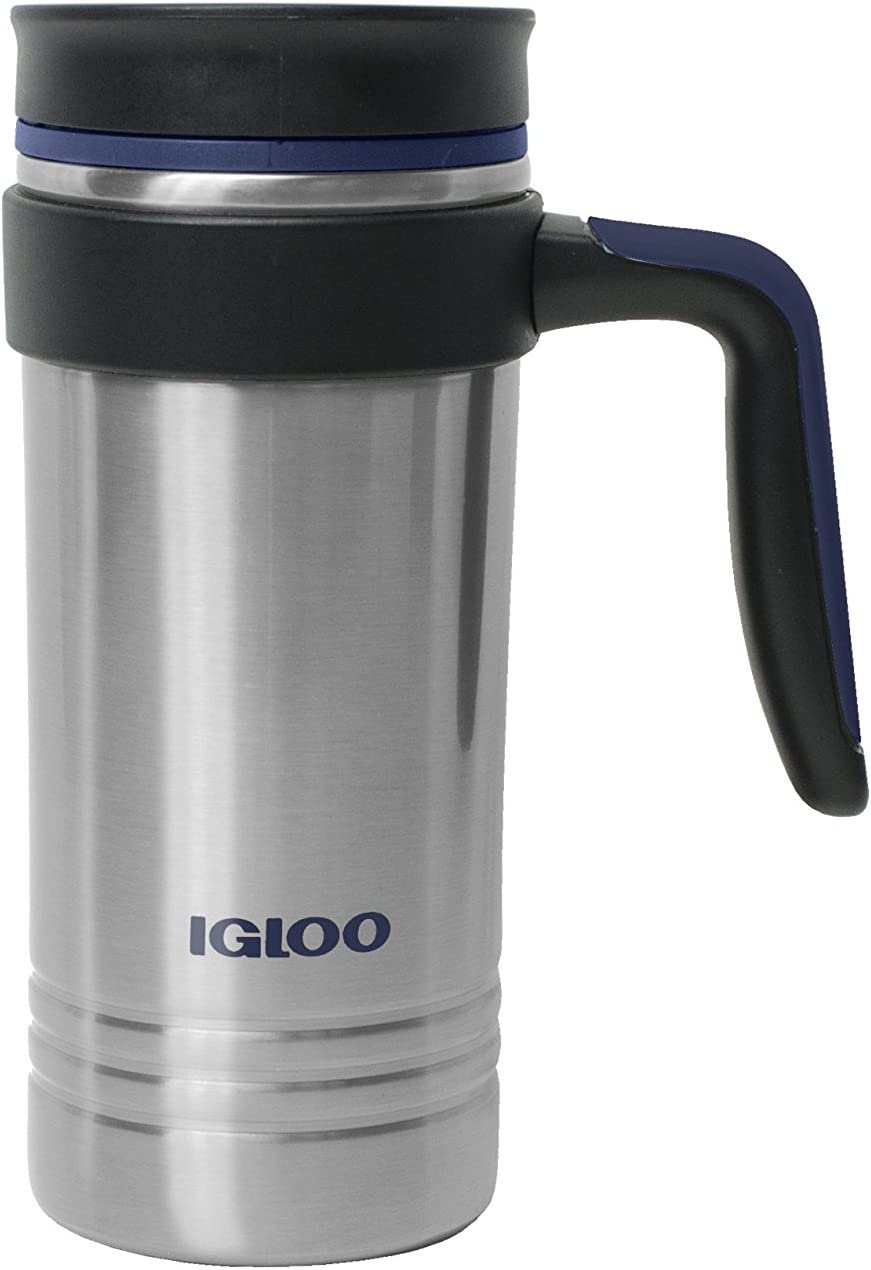 Igloo Isabel 16 Oz. Stainless Steel Vacuum Insulated Travel Coffee Mug