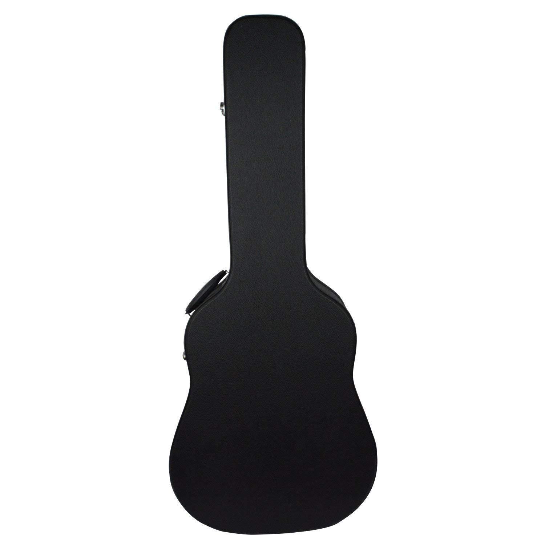 Bearhouse Funda Rigida Guitarra Caja para Acú stica Clá sica Estuche 41 Pollici DX