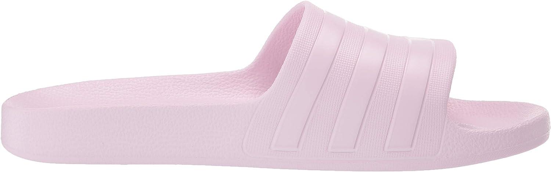 Adidas Mujeres Punta Abierta Casual Pantuflas, Talla Aero Rosa Aero Rosa Aero Rosa
