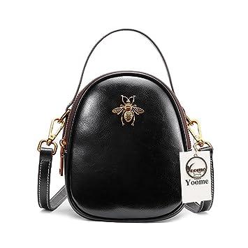 Yoome Ladies Top Handle Tote Bag para Mujeres cocodrilo en Relieve Bolsos con borlas en Liquidación - Negro: Amazon.es: Equipaje
