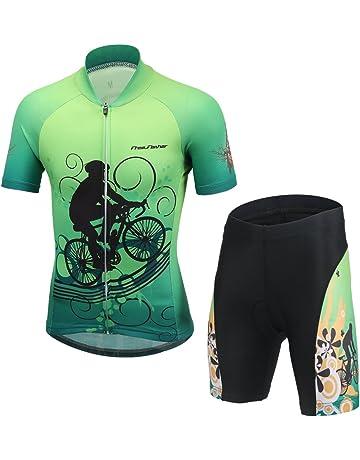 68e686cfbac9 FREE FISHER Kids Boys  Girls  Short Sleeve Cartoon Cycling Jersey Set Top
