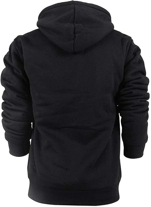 GEEK LIGHTING Hoodies for Men Heavyweight Fleece Sweatshirt - Full Zip Up Thick Sherpa Lined at  Men's Clothing store