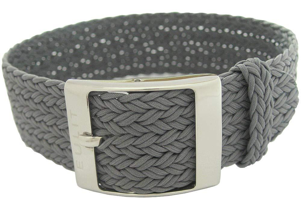 Eulit Palma 22mm Grey Perlon Watch Strap by Eulit (Image #2)