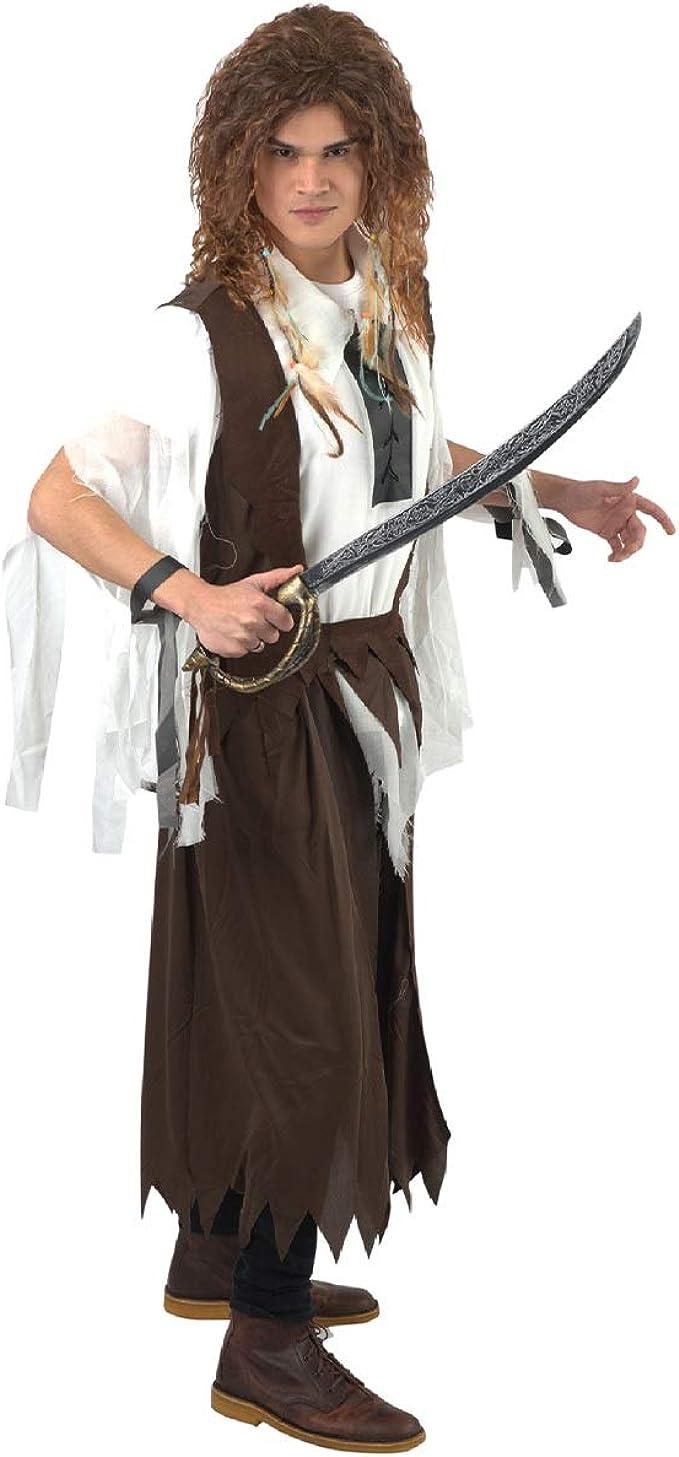 Banana Costumes Disfraz de Pirata caribeño para Hombre: Amazon.es ...