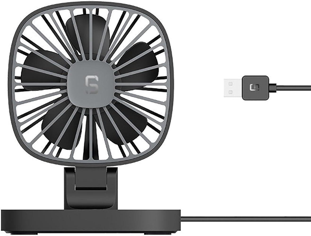 Mini Ventilador USB Silencioso,JiaMeng USB 12V Coche portátil Aire ...