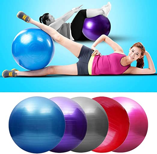 Amazon.com: Fashion Life 75cm Pelota Balls Yoga Sports Yoga ...