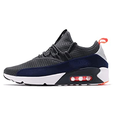 wholesale dealer a44cf 900f5 Nike Men s Air Max 90 EZ Running Shoe, Wolf Grey Anthracite-Total Orange