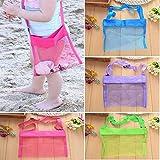 Meiyuan Mesh Beach Bag Tote Shoulder Bag Durable