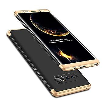 Samsung Galaxy Note 8 Case Cover 360 grado protección 3 en 1 Slim funda adamark Shockproof Shell Cuerpo Entero Cobertura Protección protectora funda ...