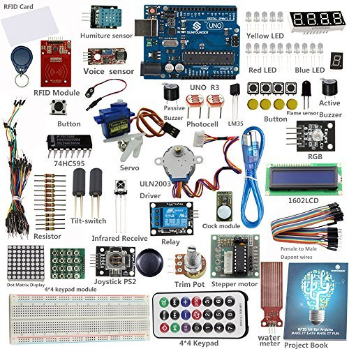 20 opinioni per SunFounder Starter RFID Learning Kit for Arduino Beginner, from Knowing to