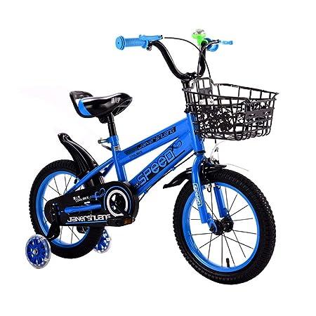 DT La Nueva Rueda iluminada para niños en Bicicleta Niño niño 6-7 ...