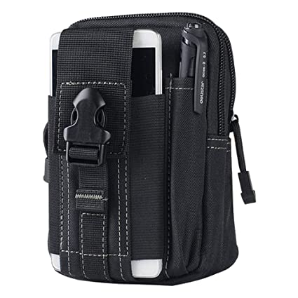 Active Military Tactical 600d Multifunctional Waist Bag Outdoor Edc Molle Pouch Tool Zipper Waist Pack Accessory Durable Belt Pouch Iot Devices