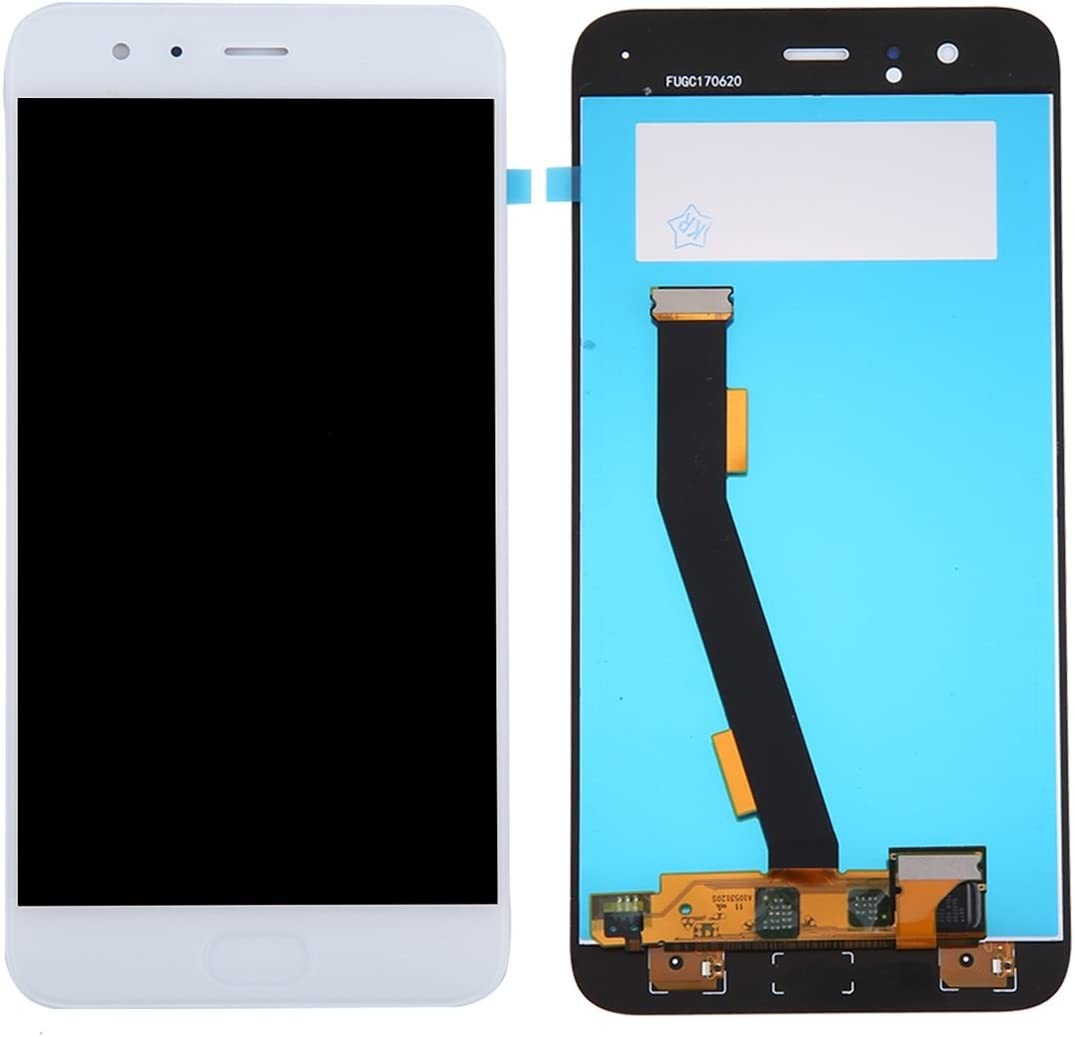 Ctghgyiki Touch Screen Panel, IPartsBuy Mi 6 LCD Screen Touch Screen No Fingerprint Identification Replace The Old Broken Cracked Damaged One Replacement Size : Sp5571w