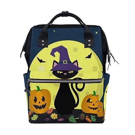 Gato negro Brujas para Halloween Bolsas de pañales de gran ...