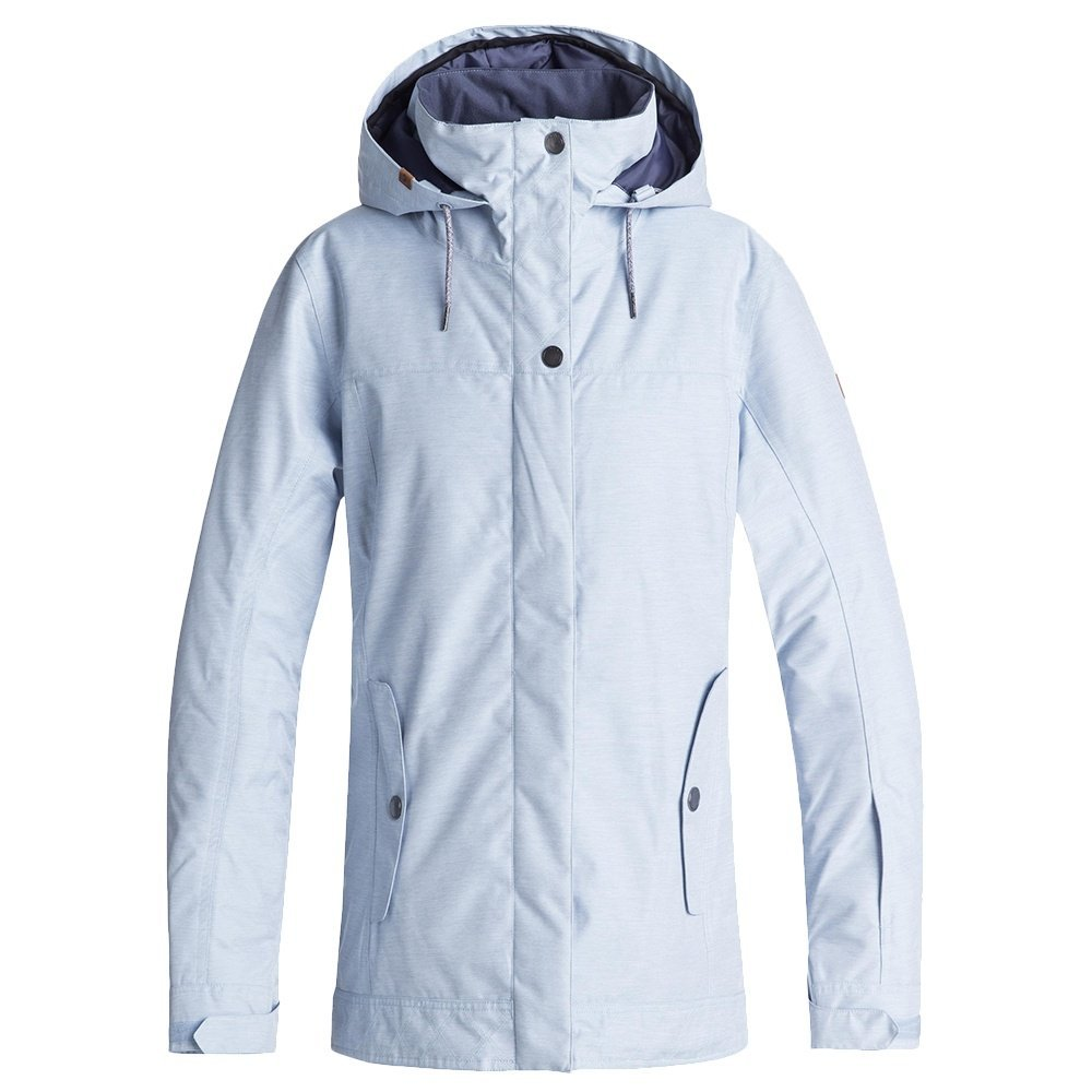 Roxy Snow Junior's Billie Snow Jacket, Powder Blue, XL