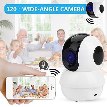 Hanbaili Cámara casera 1080p, sistema de vigilancia video del IP inalámbrico con la visión nocturna