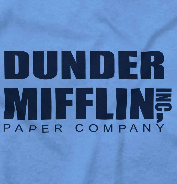 Dunder Mifflin Paper Company Shirt Office Jim Pam Dwight Cool Sweatshirt
