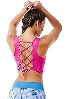 Cute Yoga Bra Tops, Sexy Pilates Fitness Tops, Sports Bra 6209 Pink