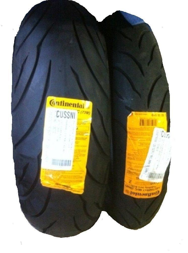 CONTINENTAL MOTION Tire Set 120/70zr17 Front & 190/50zr17 Rear 190 50 17 120 70 17 2 Tire Set
