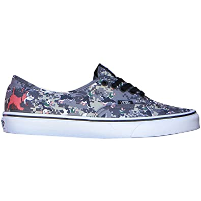 32b96ffdf17d5 Amazon.com | VANS Unisex Nintendo Authentic Duck Hunt/Camo ...