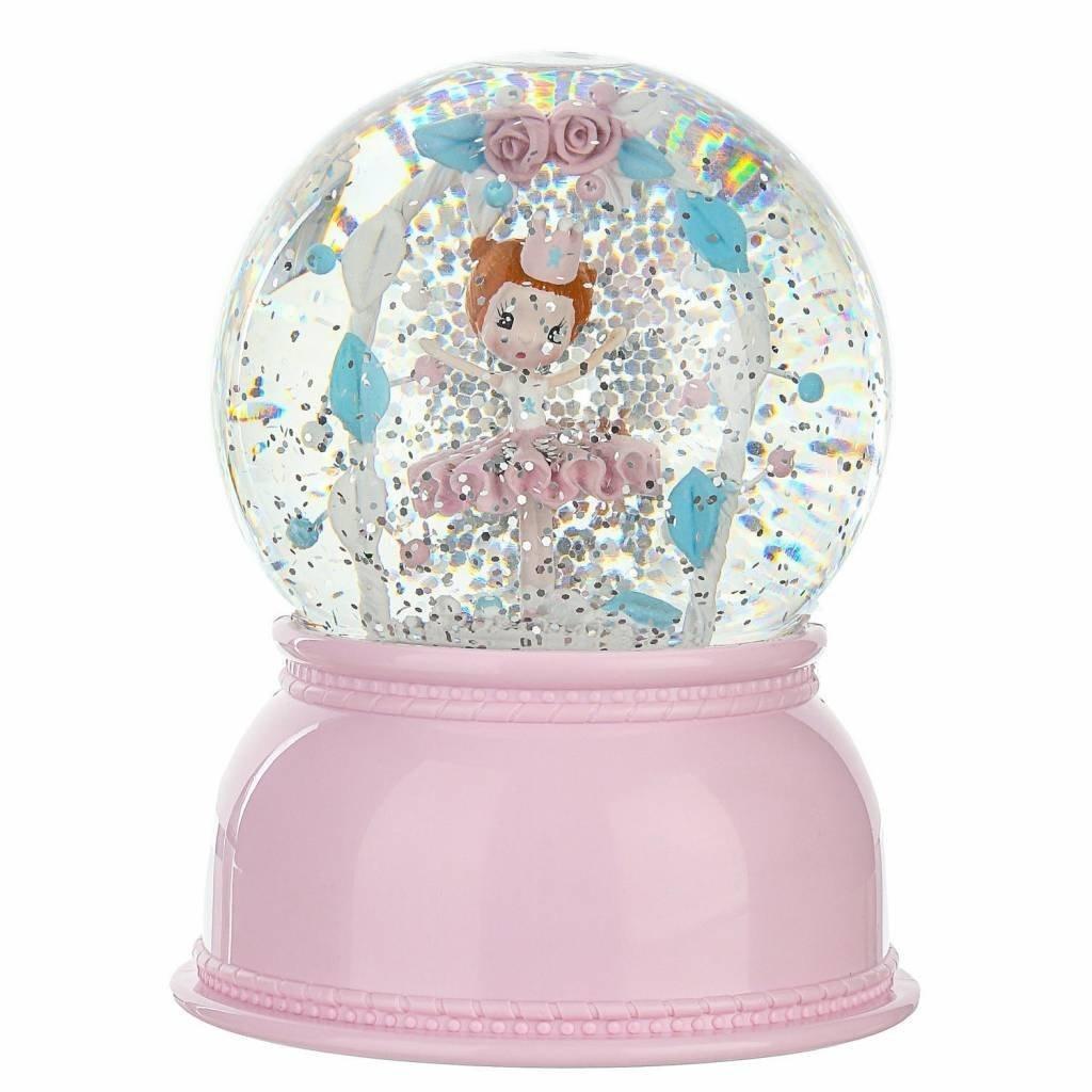 DJECO Sweet Girl Snow Globe Night Light