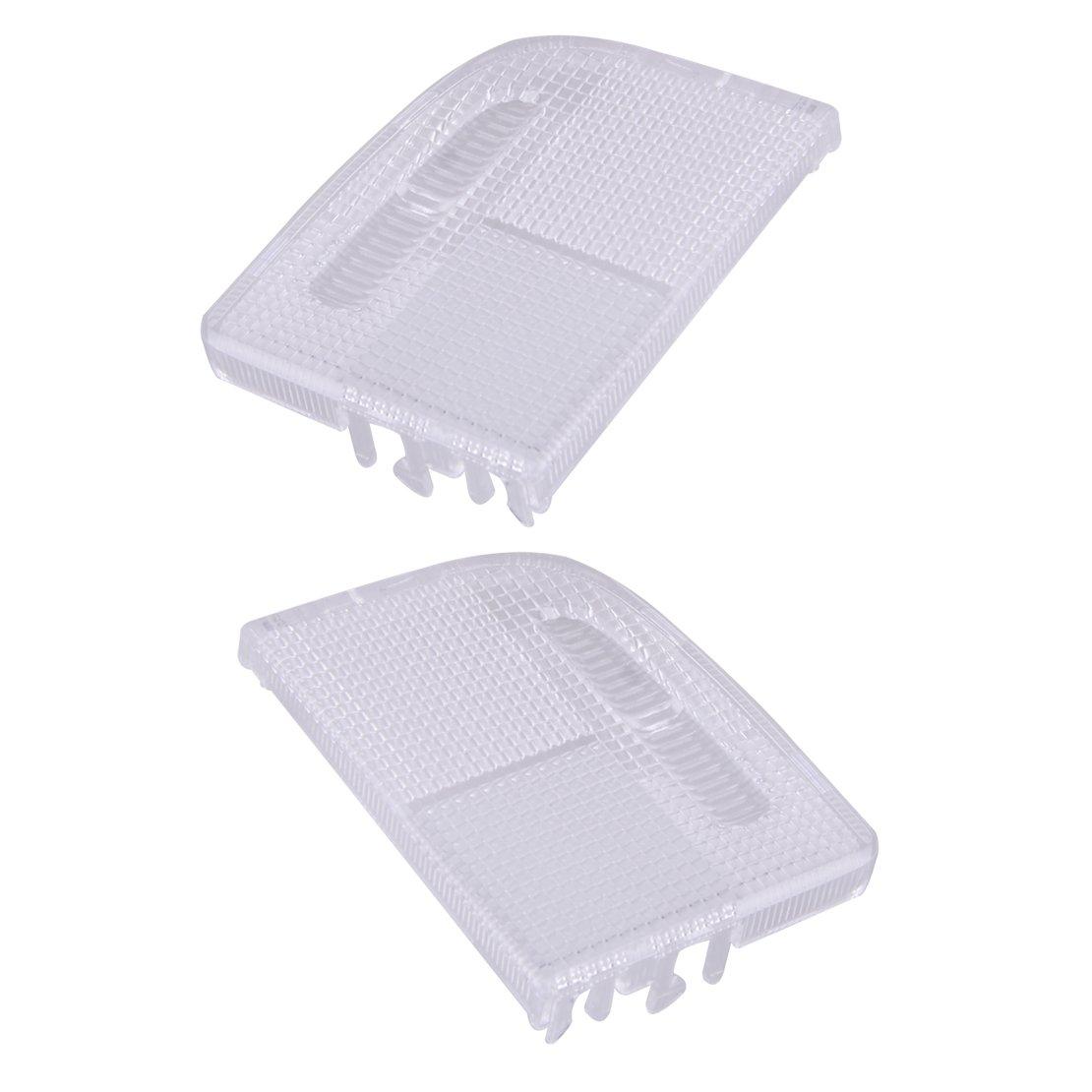 beler 2pcs Right Left Interior Roof Map Light Lens Fit for TSX Accord Civic Crosstour 34401-SDA-A21 34402-SDA-A21 hermeshine
