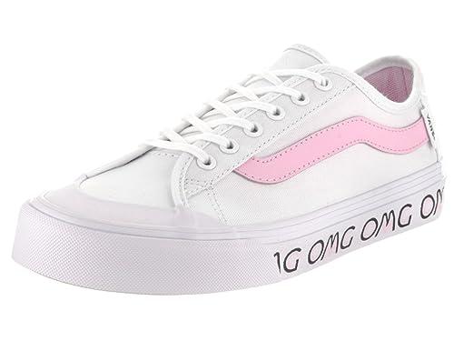 9d1dd2137606d3 Vans Women s Black Ball Sf (OMG) White Sneakers - 4.5 UK India (37 ...