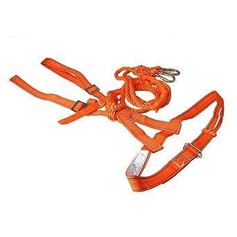 Mxfans, arnés de seguridad para trabajo de altura, cordón de 68.89 ...