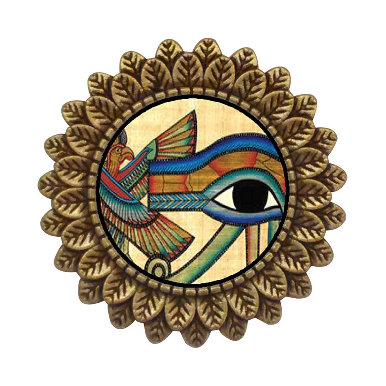 PinMart's Antique Gold Heart with Angel Wings Enamel lapel Pin
