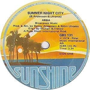 Summer night city (1978) / Vinyl single [Vinyl-Single 7'']