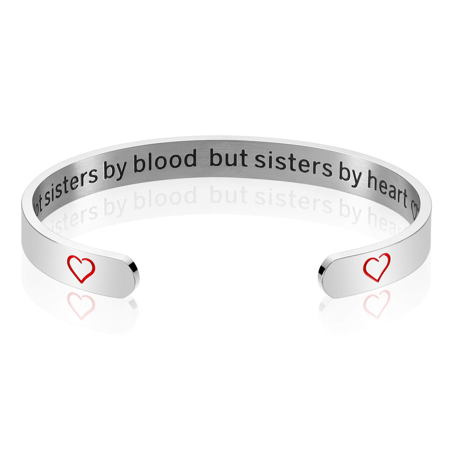 Ijuqi Friendship Gifts Bracelet Not Sisters By Blood But Sisters