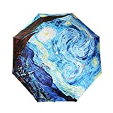 UV Umbrella For Women,LifeVC Folding Sun Umbrella UV Protection,Rain Umbrella (Automatic)