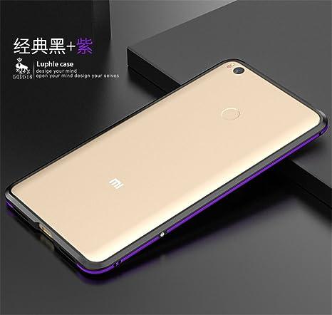 Amazon.com: Xiaomi Mi Max2 Bumper (6.44inch), dayjoy Lujo ...
