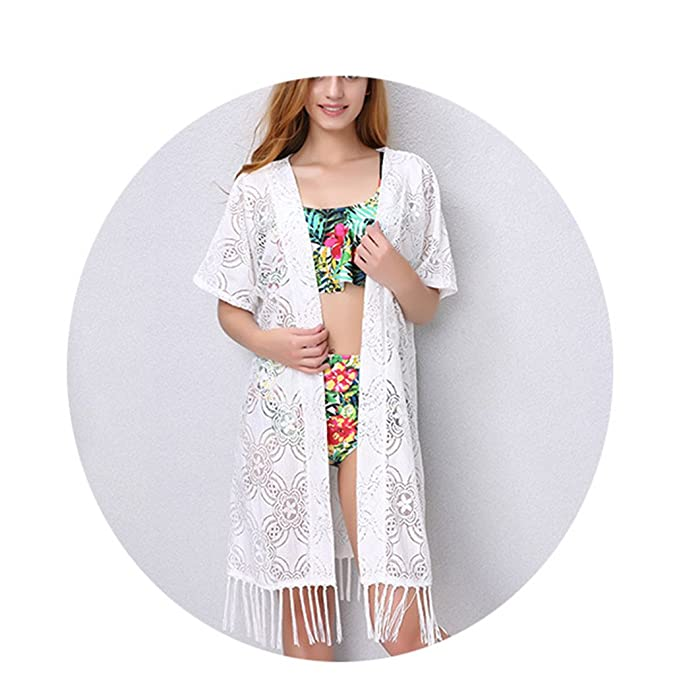 1c2e1e6750319 aoliaoyudongyongpin New Bikini Cover up Robe De Plage Summer Beach Wear  Cardigan Dress Women Swimsuit Cover Ups at Amazon Women's Clothing store: