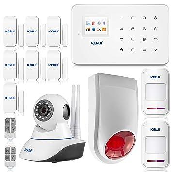 KERUI - G18 433 MHz Home Maison sécurité système d alarme Système Capteur  de Porte cacbb2760490