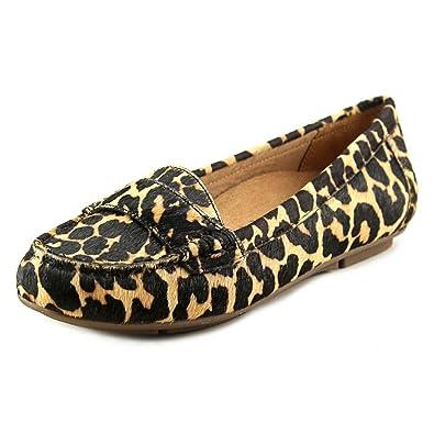 9c4f97bb2ab Vionic Womens Larrun Loafer Tan Leopard Size 5  Amazon.co.uk  Shoes   Bags