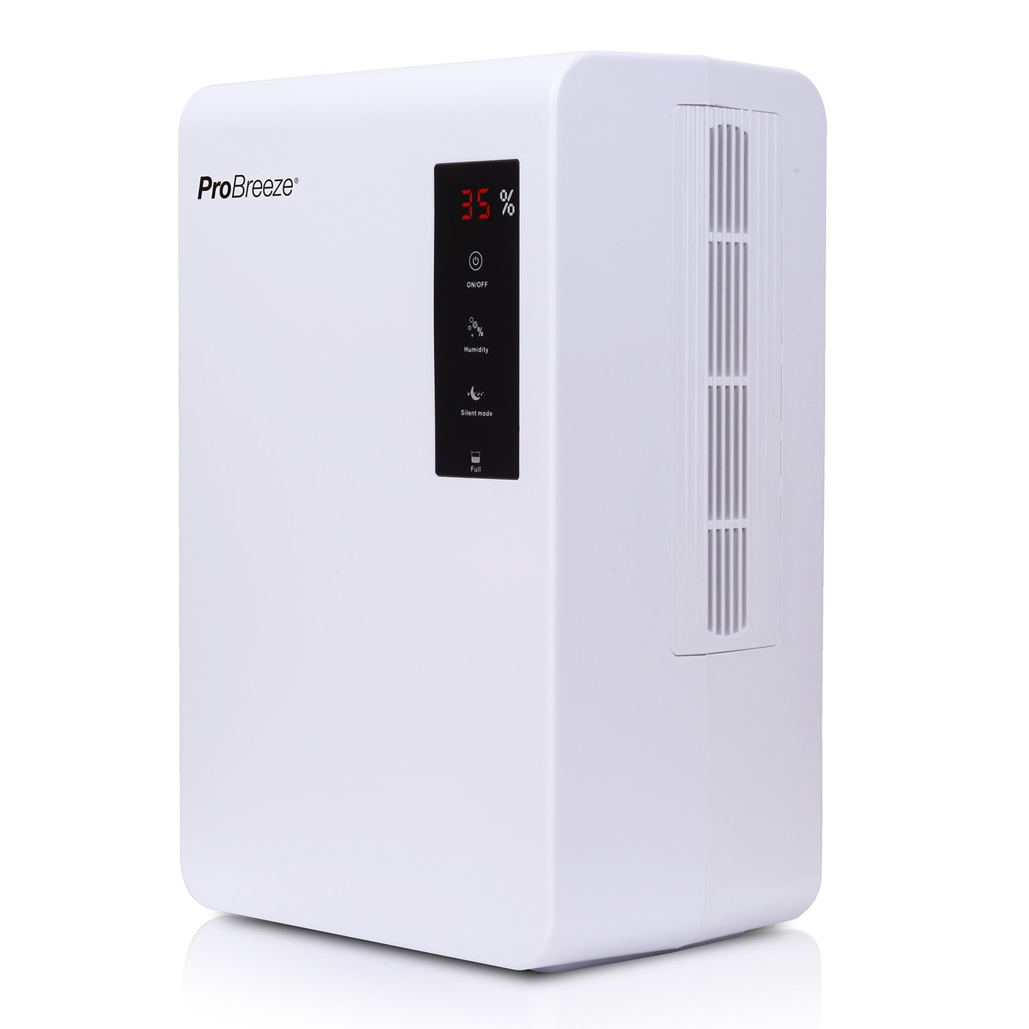 Pro Breeze Electric Mini Dehumidifier, 5 Pint, 5500 Cubic Feet - Perfect for Attics, Bedrooms, Bathrooms & Closets | Ultra Quiet Thermo-Electric Technology with Built in Humidistat PB-05-US