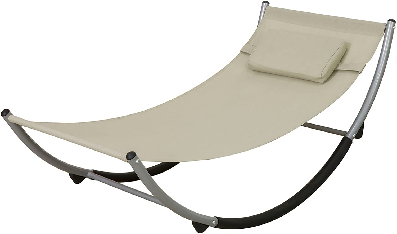 Sobuy Kmb04 Outdoor Rocking Chair With Safety Stopper Hammock Children S Hammock Swing For Children Bht Approx 127 X 47 X 62 Cm Garten