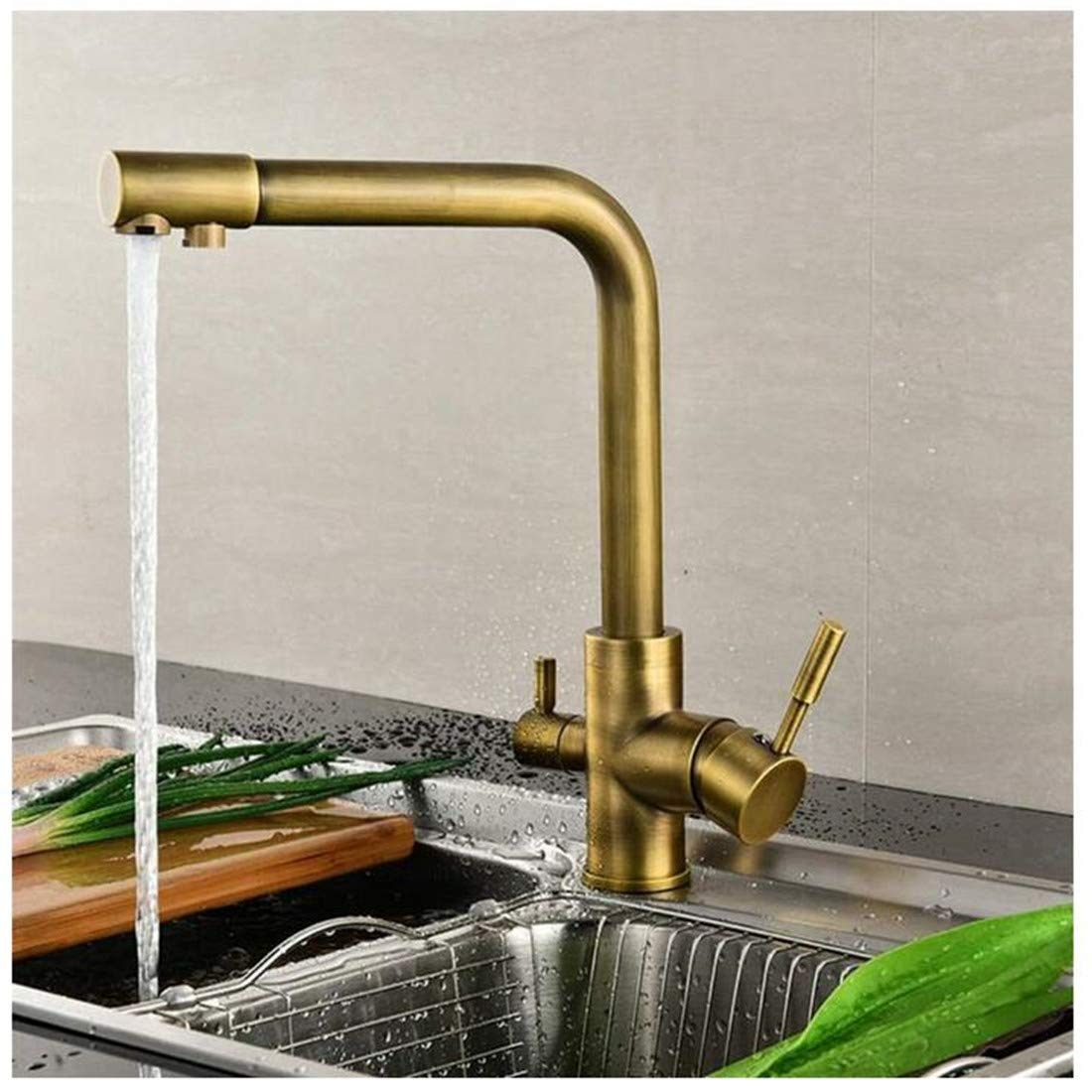 Kitchen Bath Basin Sink Bathroom Taps Basin Sink Mixer Taps Bathroom Kitchen Sink Taps Hot and Cold Water Ctzl2838