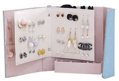Amazoncom Jewelry holderCsinos Portable Earring Organizer Book
