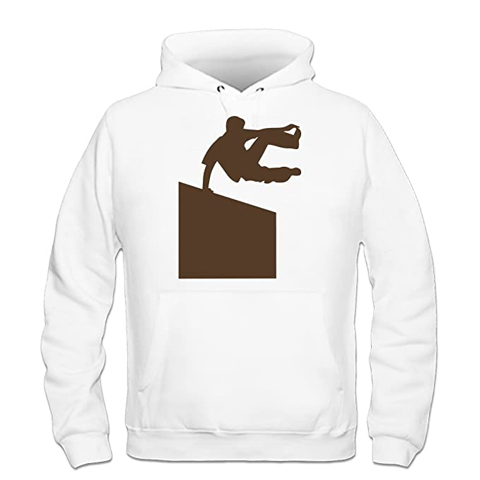 Shirtcity Sudadera con Capucha Parkour Illustration by: Amazon.es: Ropa y accesorios